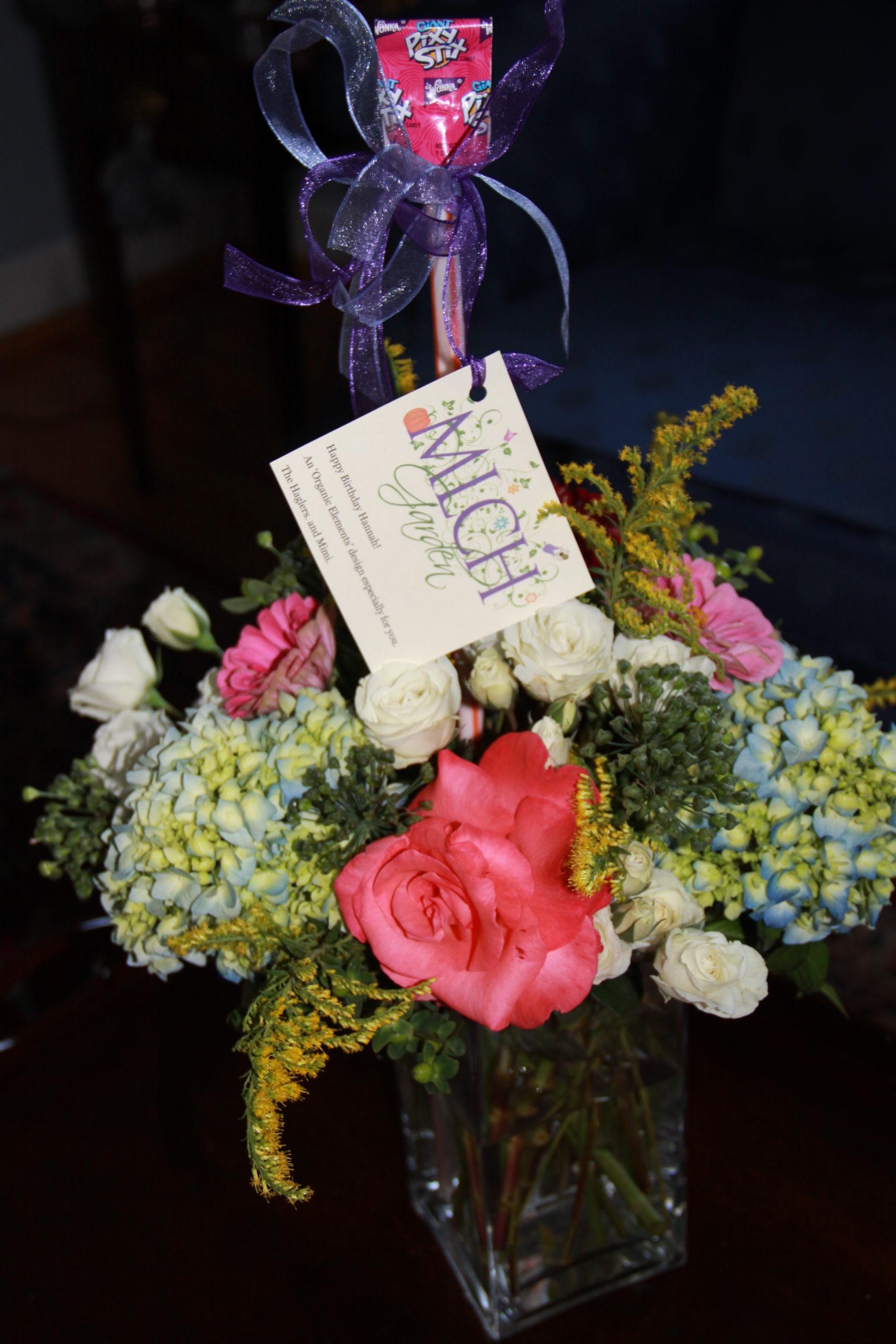 Flower Arranging from Your Garden