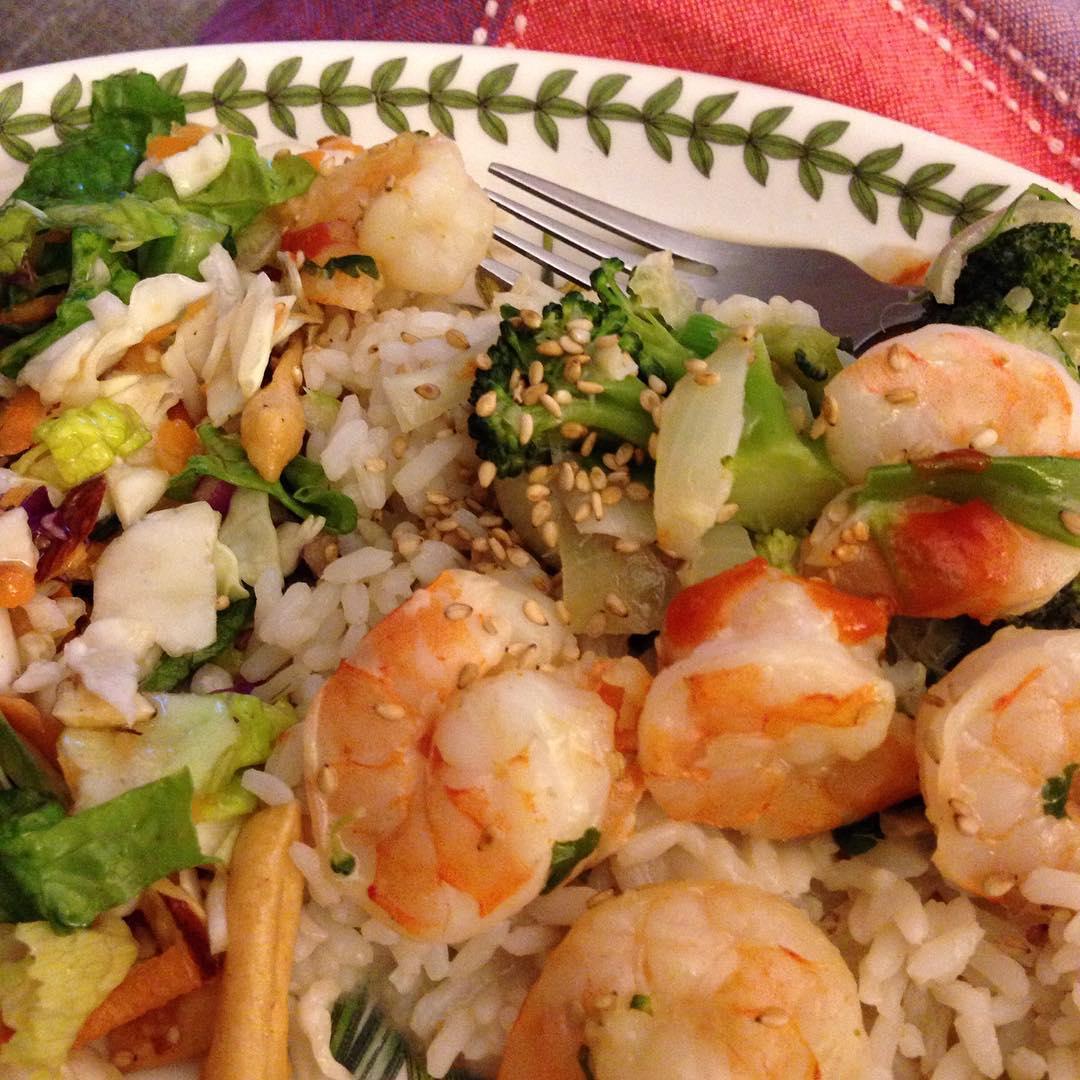Recipe Roundup! Two Recipes: Pork Roast and Shrimp