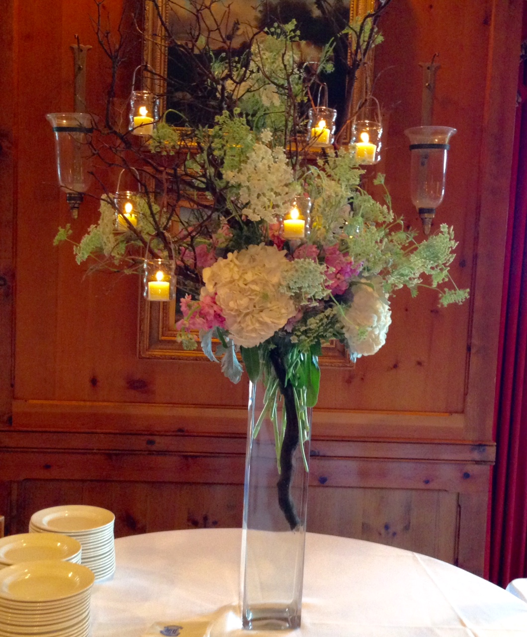 Hydrangeas and Luscious Boutonnieres