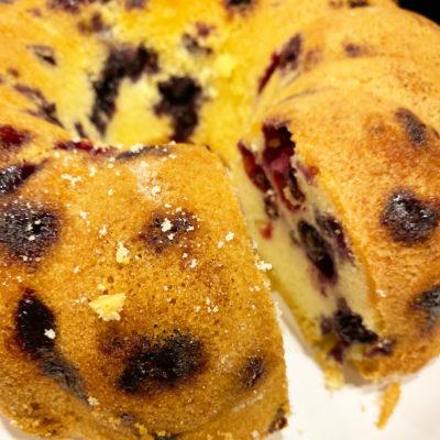 Best Blueberry Pound Cake Recipe Ever.
