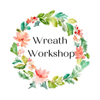 Wreath Workshop–FINALLY!